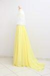 Robe de mariée deux pièces, modèle OPALE