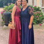 La mère et la sœur du marié